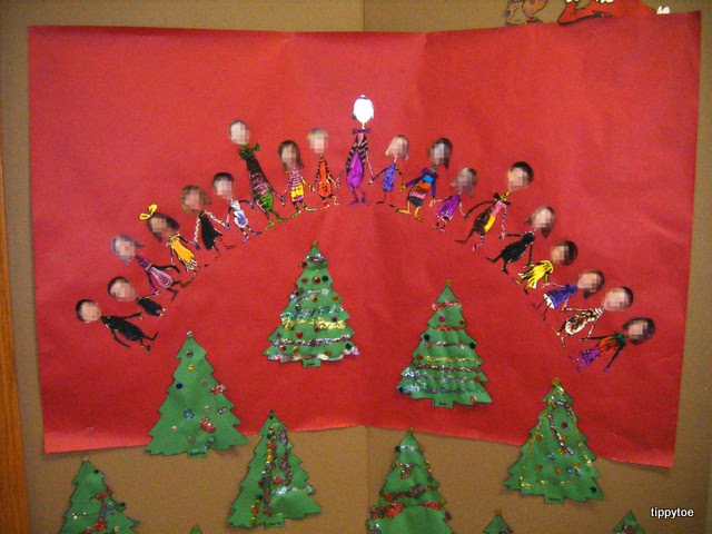 Tippytoe Crafts Whoville Class Display