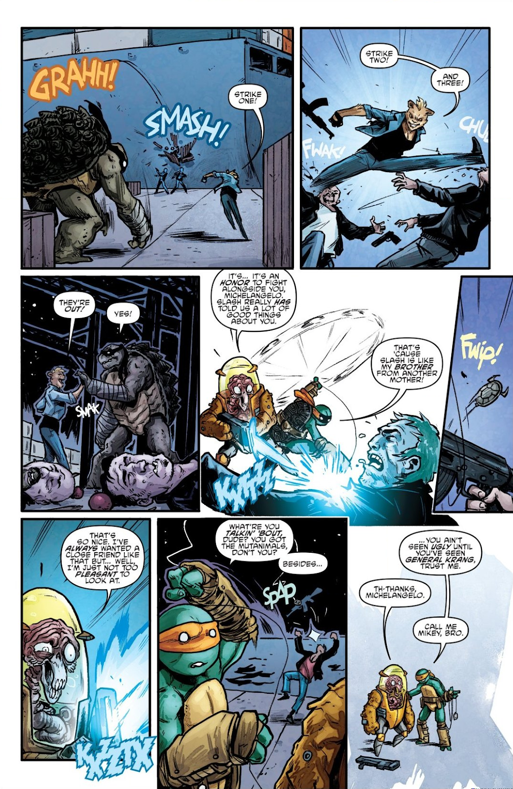 Read online Teenage Mutant Ninja Turtles: The IDW Collection comic -  Issue # TPB 7 (Part 1) - 68