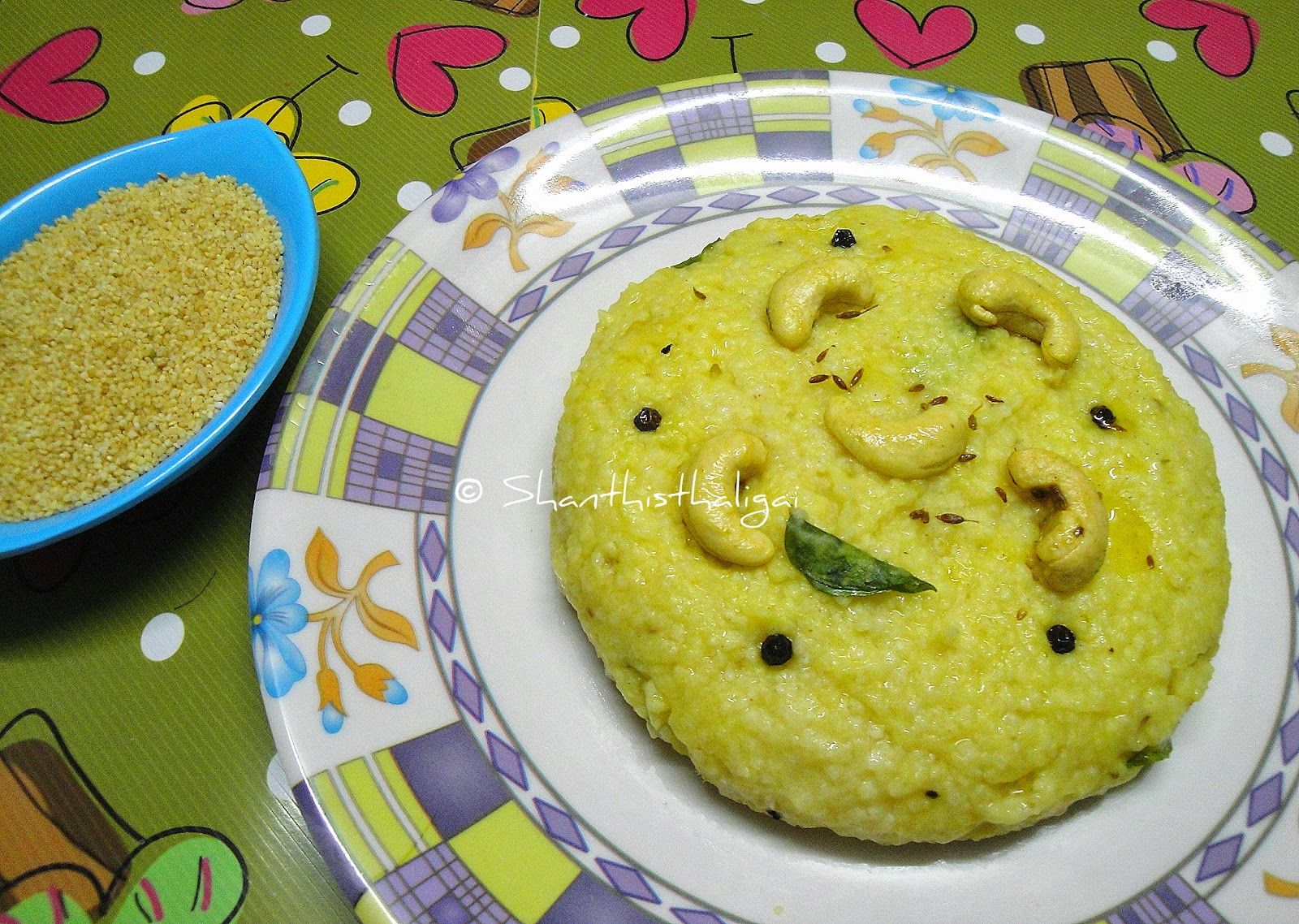 THINAI VENN PONGAL,THINAI PONGAL, HOW TO MAKE THINAI PONGAL, MILLET RECIPES