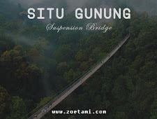 Panduan Lengkap Mengunjungi Wana Wisata Situ Gunung Sukabumi (Jembatan Gantung)