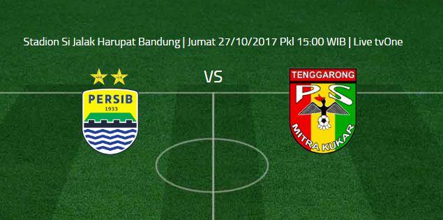 Prediksi Persib Bandung vs Mitra Kukar - Jumat 27 Oktober 2017.
