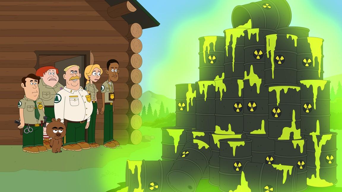 Brickleberry - Season 3 Episode 08: Steve the Fearless Pilot