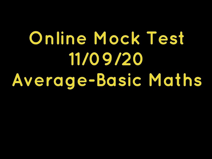 Online Mock Test-Average