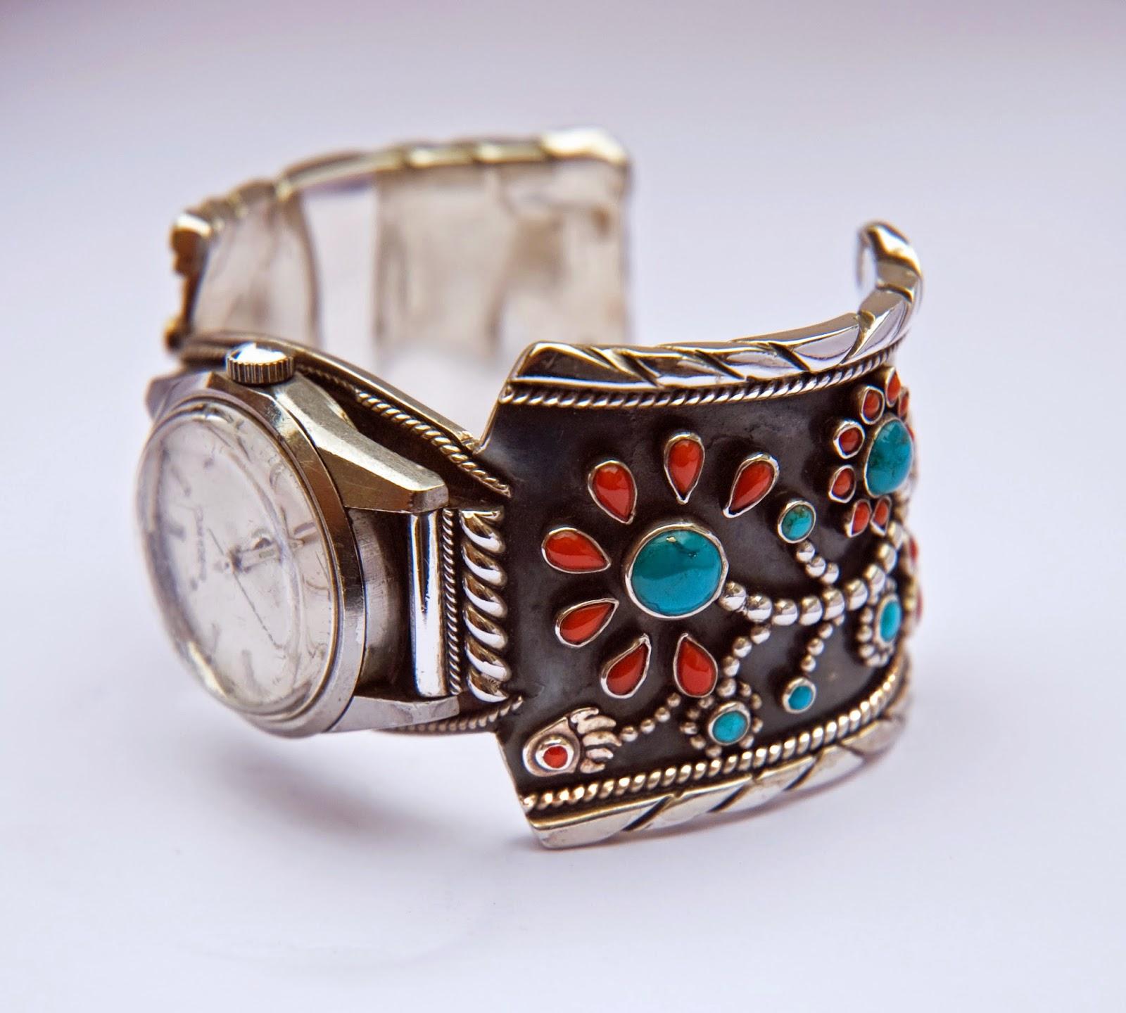 Bimaabiig Aadizookaan wristwatch cuff band