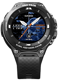 Casio Protrek Run Android Wear WSD-F20-BK (MADE IN JAPAN)
