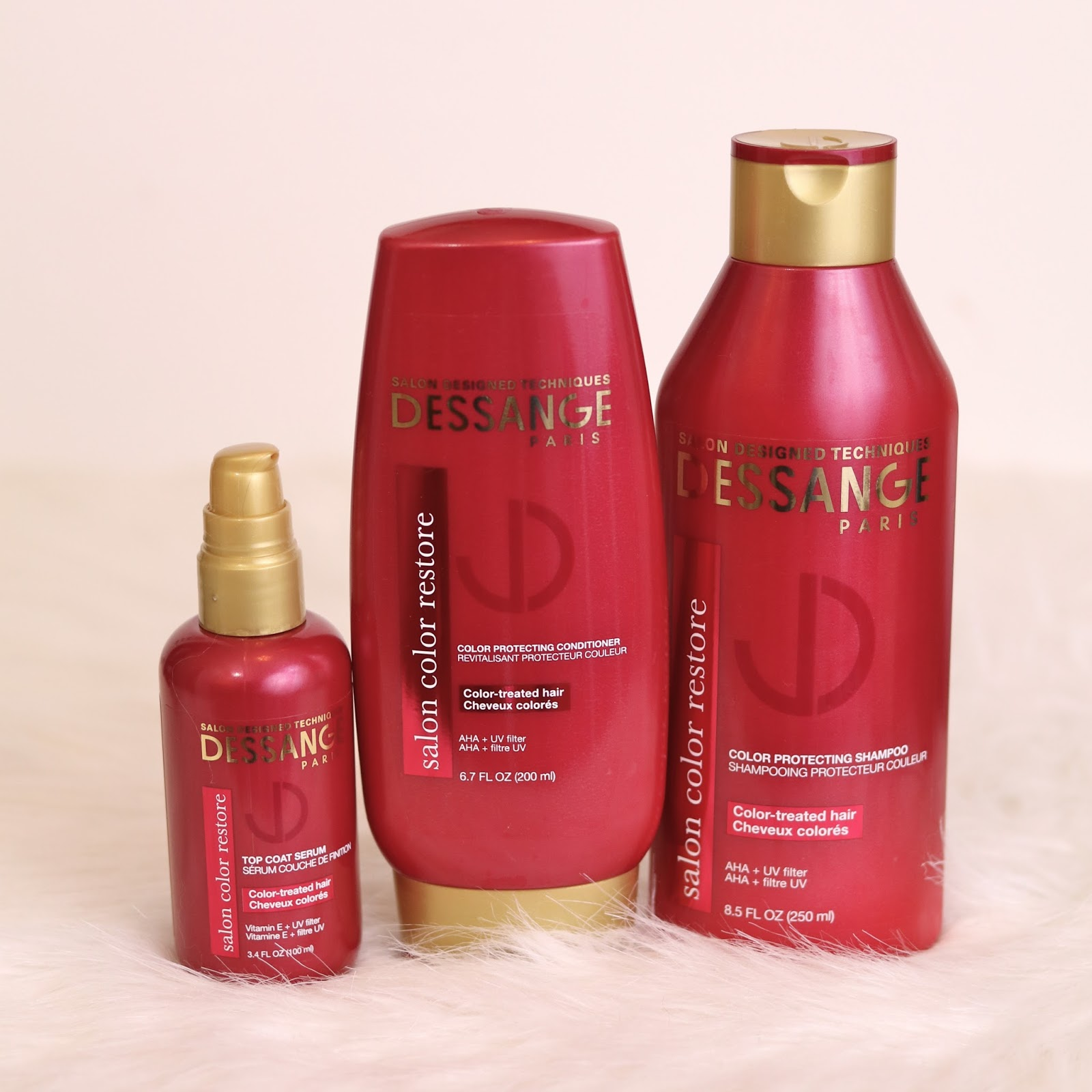 Dessange Salon Color Restore, Dessange Salon Color Restore shampoo review, Dessange Salon Color Restore conditioner review