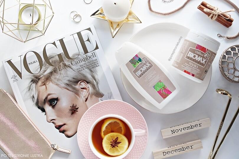 kosmetyki do włosów l'biotica biovax micelarny szampon oczyszczający i maska regenerująca malina moroszka i olej z róży