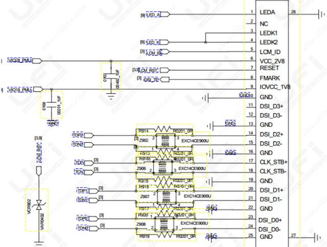 Daftar Lengkap Kode Jalur pada Schematic Motherboard Laptop