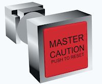 Aircraft warnings and cautions