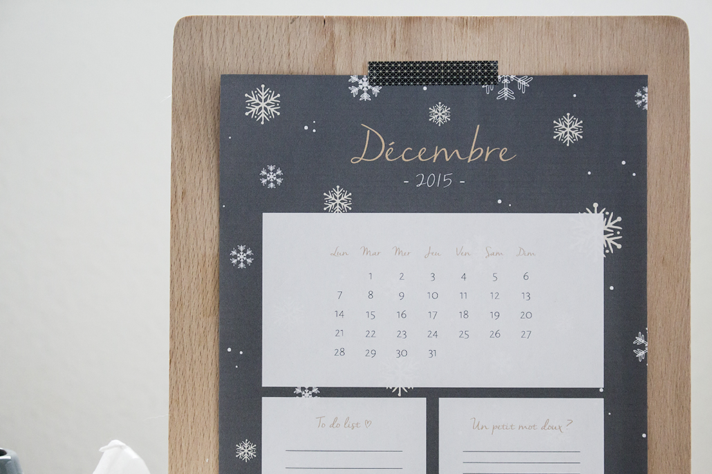 Leanna Earle Le Calendrier Du Mois De Decembre 2015