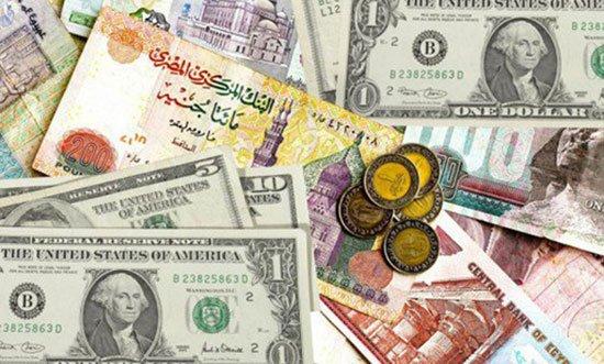 أسعار العملات اليوم الاحد 9-4-2017 في البنوك المصرية أستقرار العملات في البنوك