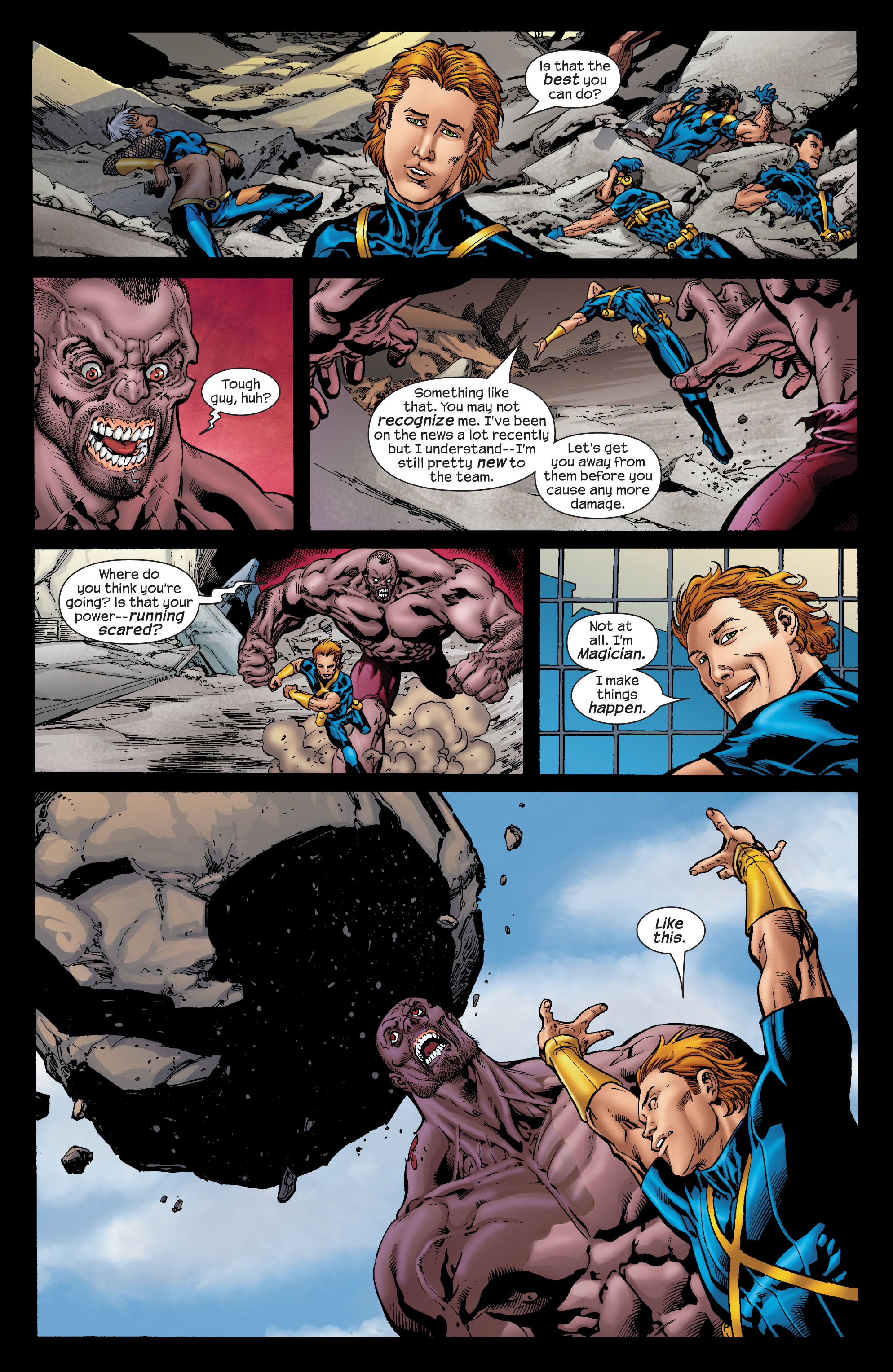 Read online Ultimate X-Men comic -  Issue #72 - 15
