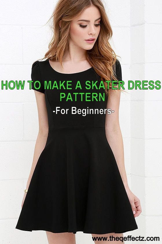 How To Make A Skater Dress Pattern The Q Effectz