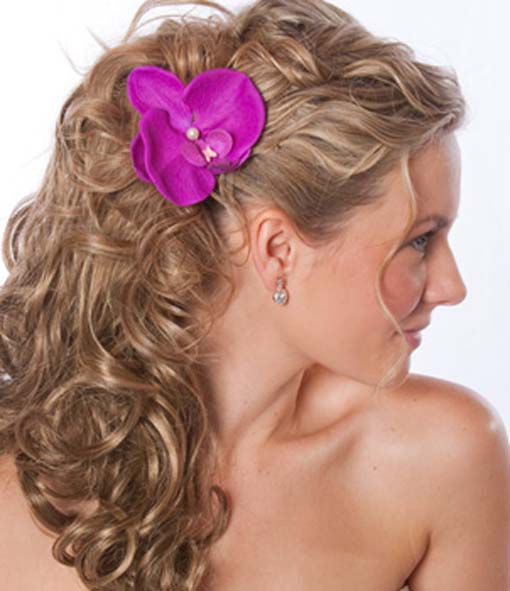 Tropical Wedding Hairstyles: Wedding Hairstyles