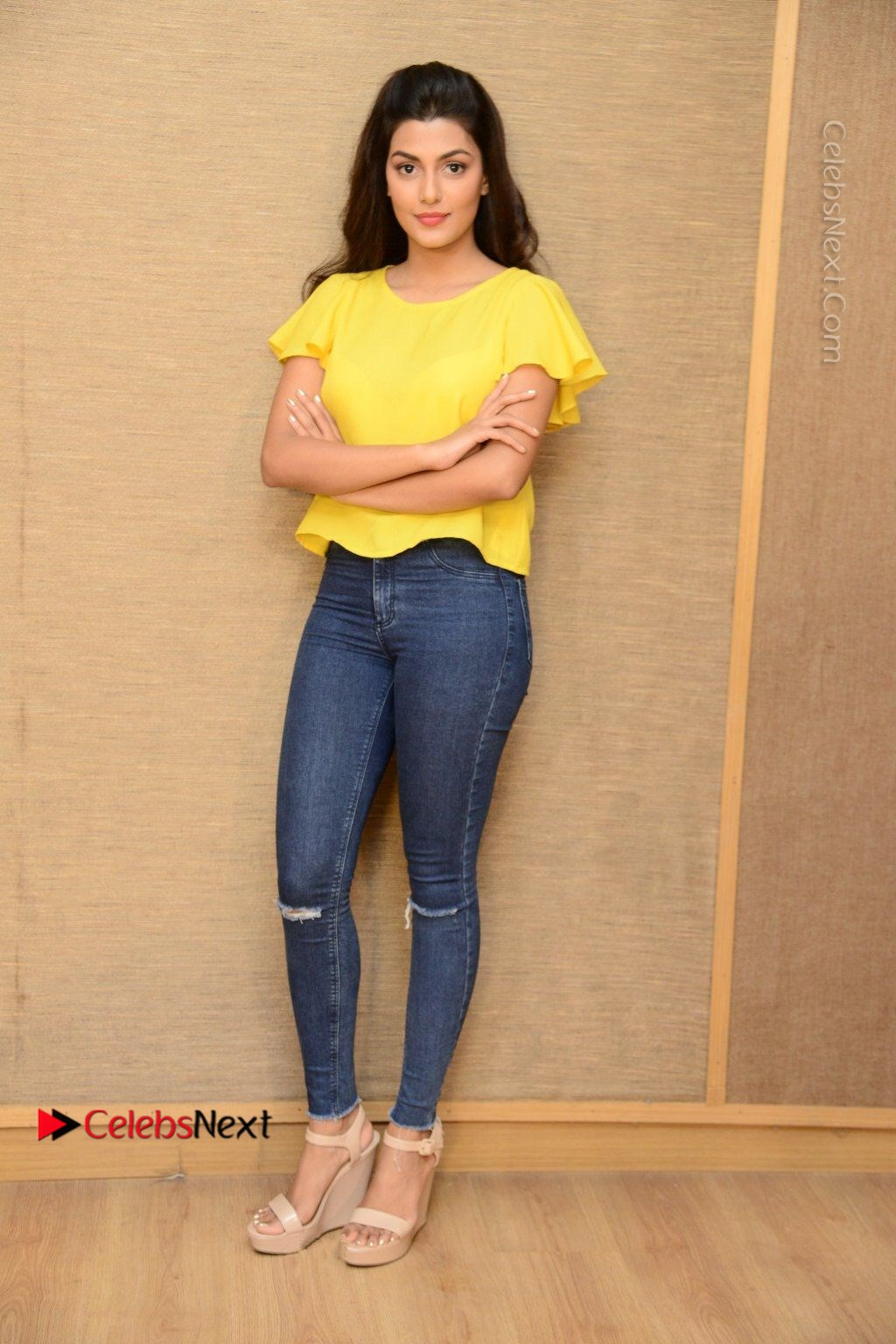 Actress Anisha Ambrose Latest Stills In Denim Jeans At Fashion Designer So Ladies Tailor Press Meet Com 0007 Anisha Ambrose Latest Stills In Denim Jeans At Fashion Designer S O Ladies Tailor
