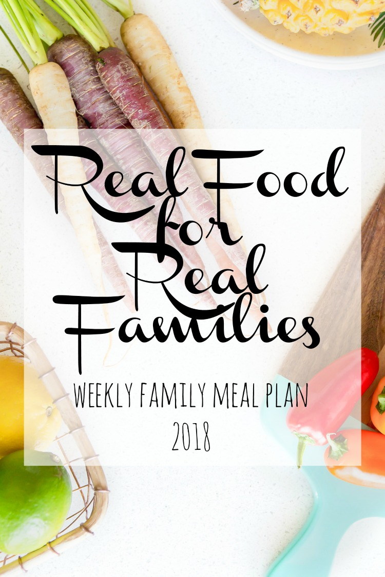 Weekly Family Meal Plan 2018 Week 3