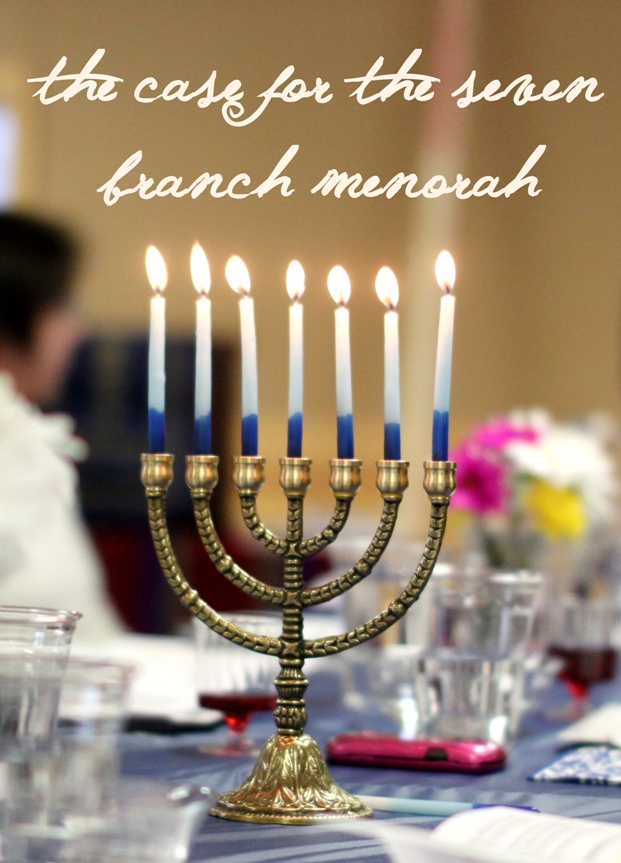 The difference between the seven branch menorah and the nine branch Hanukkiah | Land of Honey