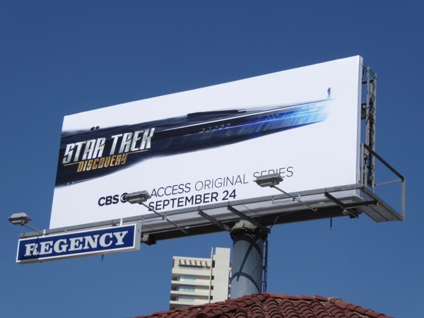 Star Trek Discovery CBS All Access billboard