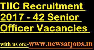 TIIC-jobs-42-Senior-Officer-Vacancies