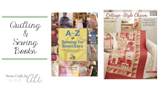 New Quilting and Sewing Books published