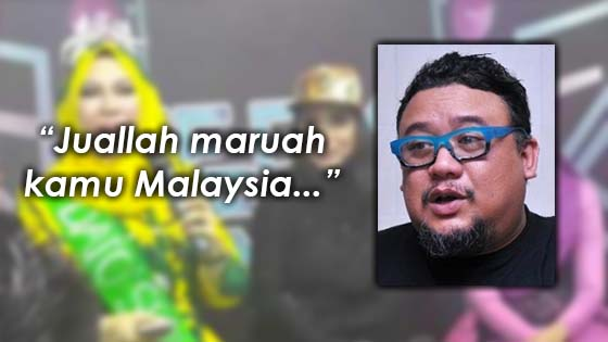 Afdlin Shauki Kecewa Industri Hiburan Dibuli Jutawan