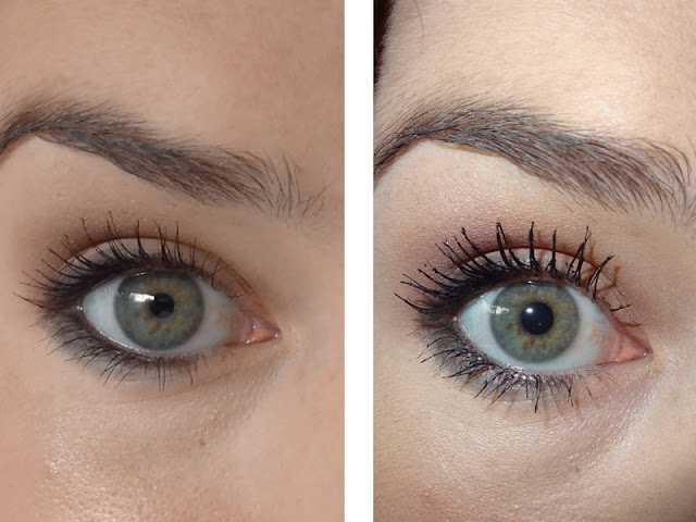 7f3225cfd6a Rimmel London - Glam Eyes Day 2 Night Mascara. [Left: length - Right: length  + volume]