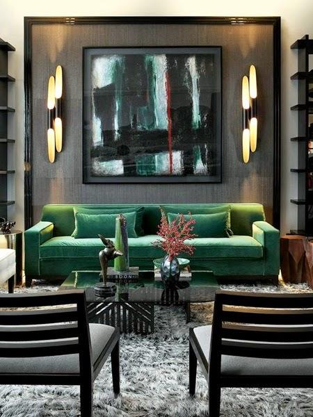 Inspiracje W Moim Mieszkaniu Zielona Kanapa Do Salonu
