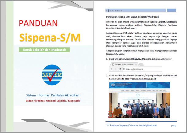 Panduan SIsPenA-SM (Sekolah - Madrasah)