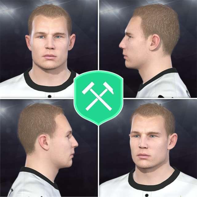 Holger Badstuber Face PES 2018