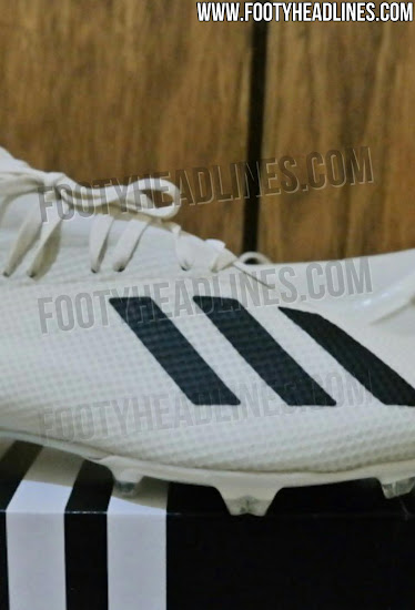 premium selection 5cd7f 8ac19 White / Black Next-Gen Adidas X 18 2018 Boots Leaked - Footy ...