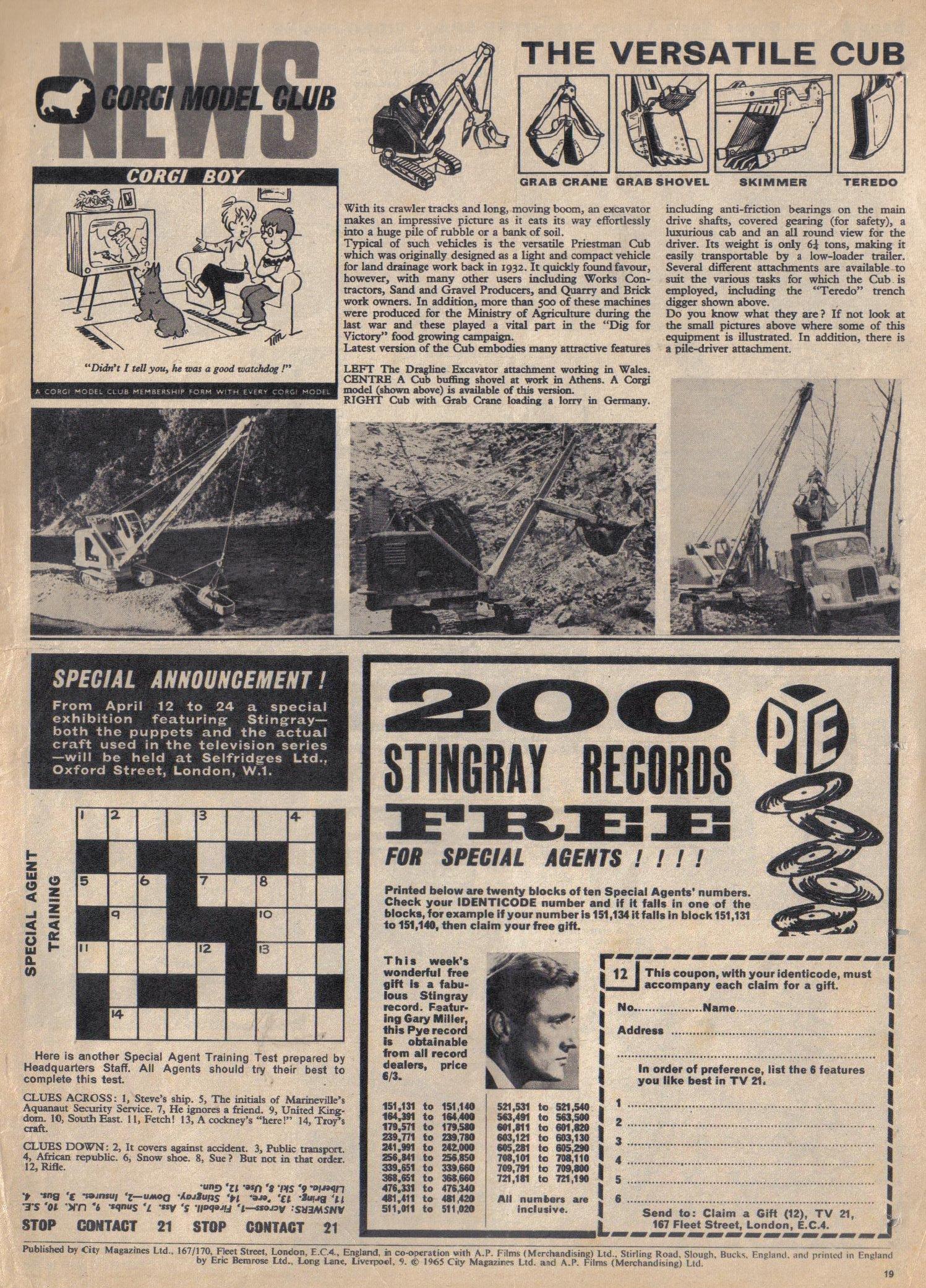 Read online TV Century 21 (TV 21) comic -  Issue #12 - 18