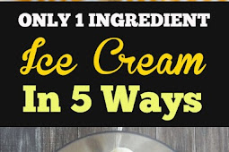 Yummy One Ingredient Ice Cream!