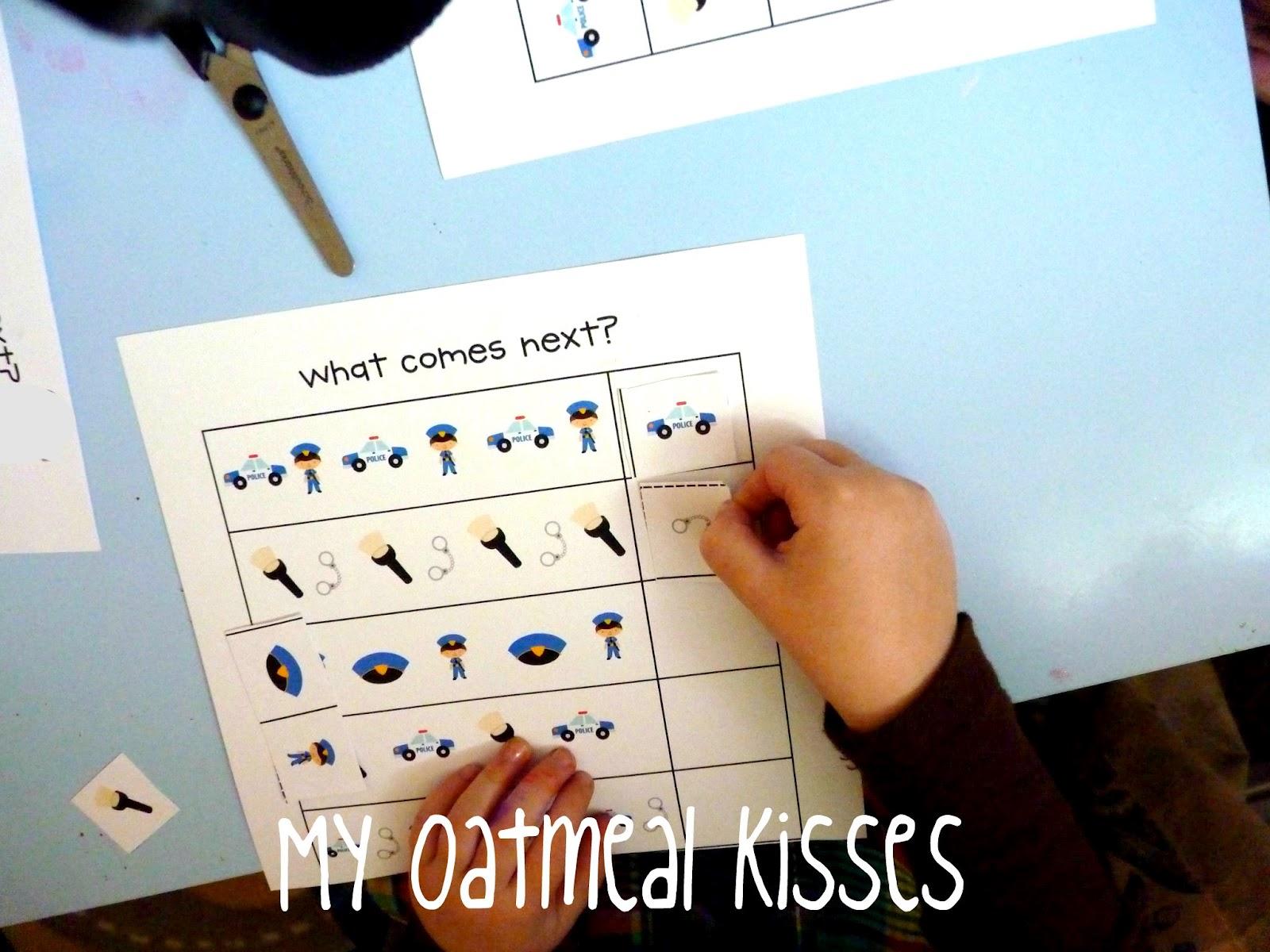 My Oatmeal Kisses Community Helpers