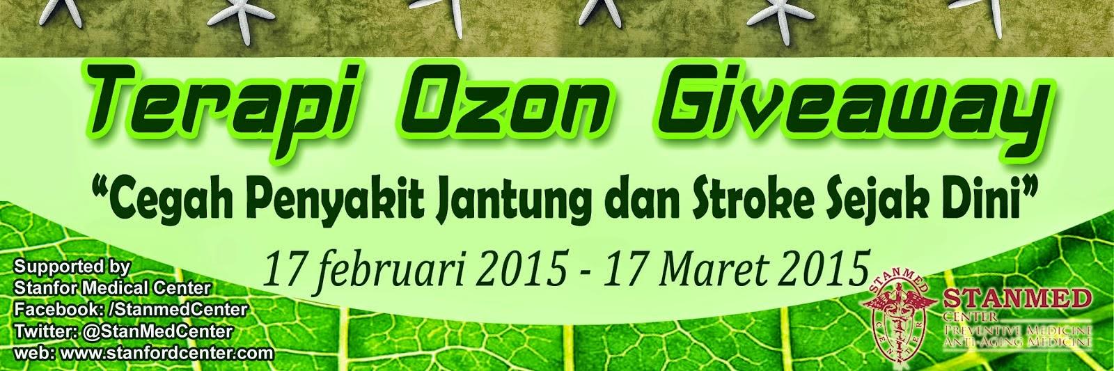 Giveaway Terapi Ozon