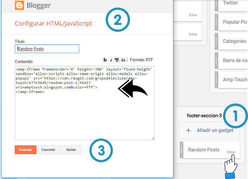 Template Blogger Gratis di Amp - AMP Blog Build