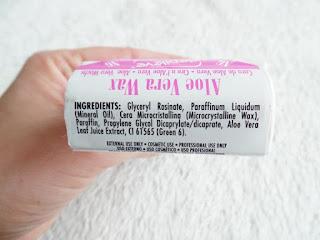 Inhaltsstoffe Aloe Vera Haarentfernungs Wachs