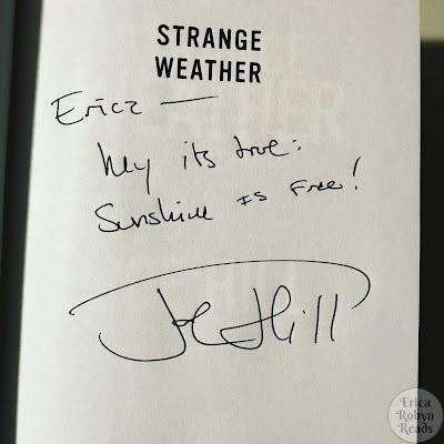 Joe Hill autograph