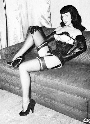Bettie Page, Charles Guyette's corset