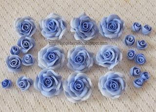 Flores porcelana fria