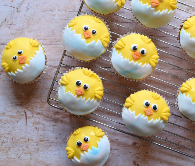 Decorated cupcake recipe for Easter