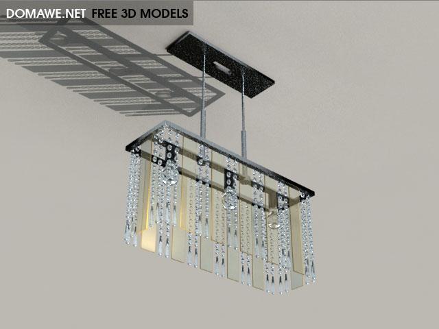 DOMAWE net: Eglo Ceiling Lamp 4 - Free 3D Models