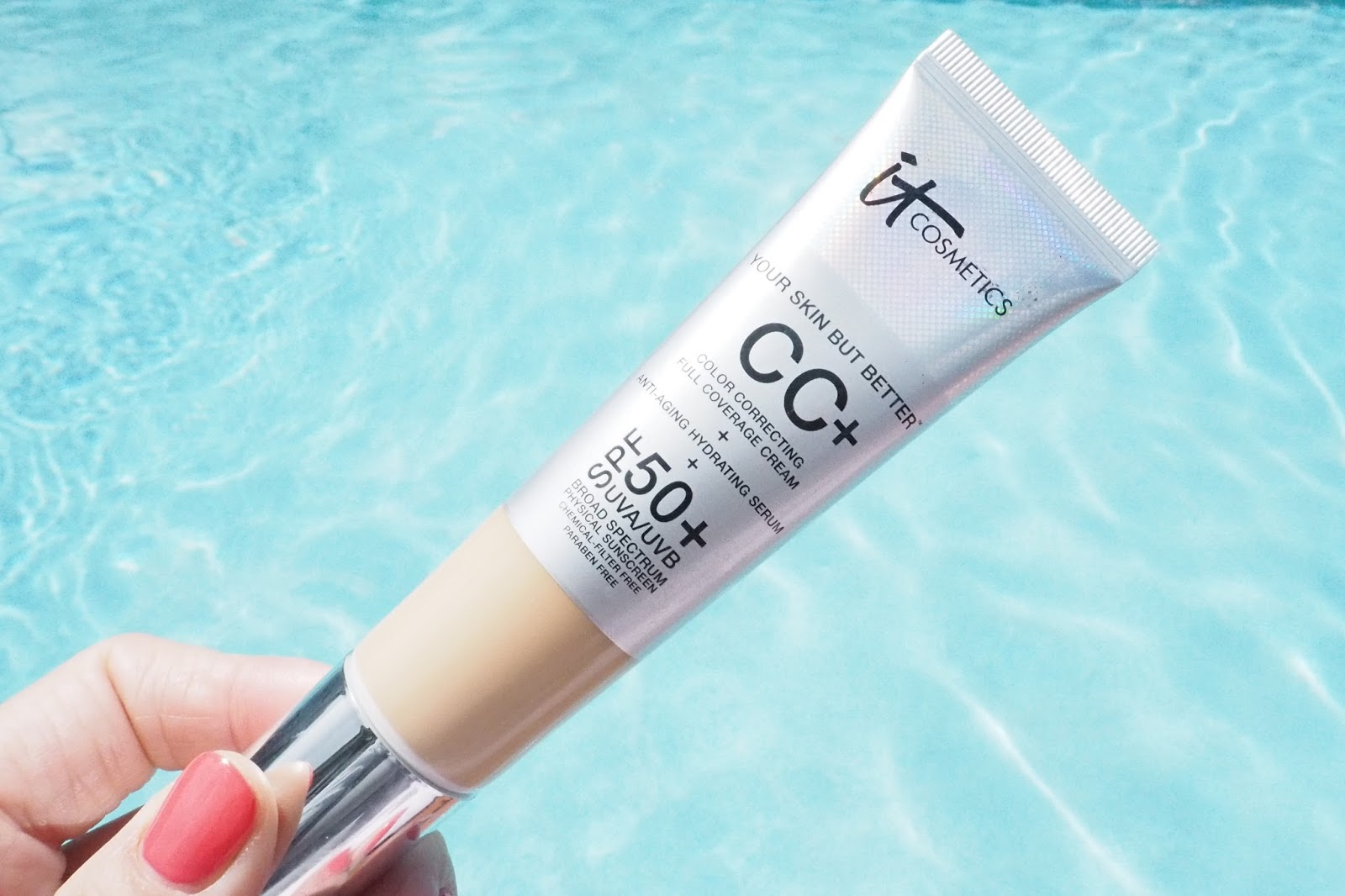 IT Cosmetic Your Skin But Better CC+ Cream Review