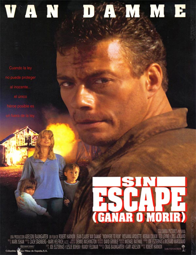 Ver Ganar o morir (Nowhere to Run) (1993) Online