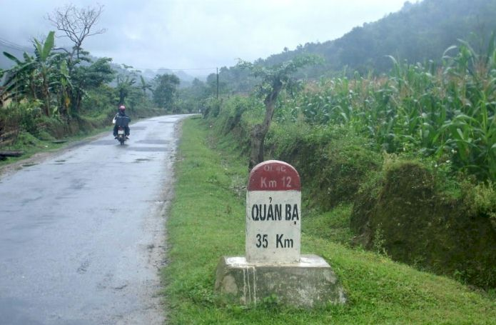 From Hanoi to Hagiang Vietnam by motorbike