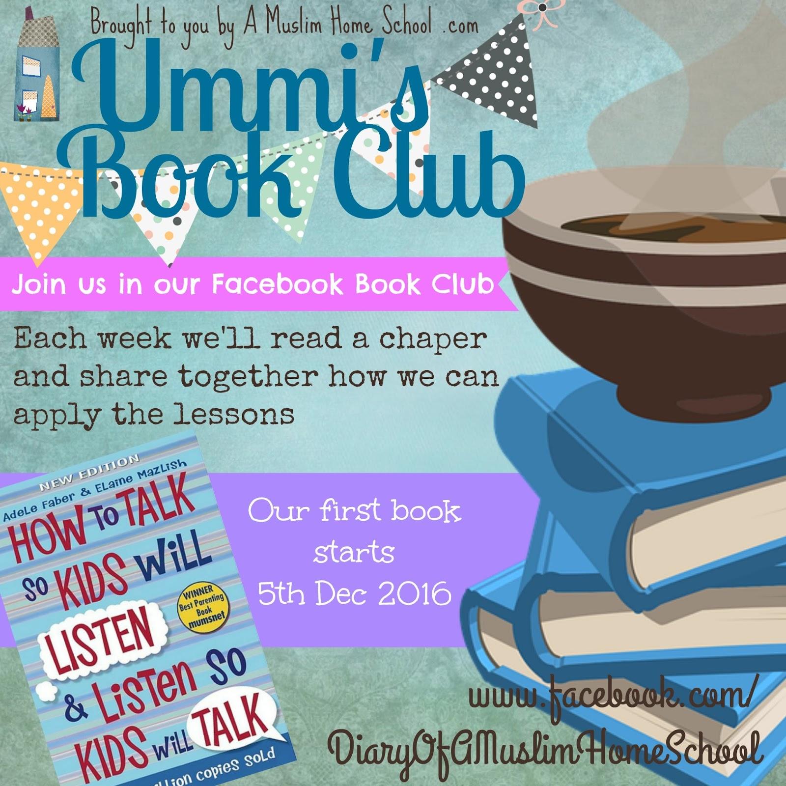 a muslim homeschool: online book club!