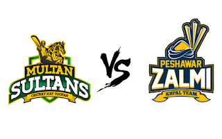 today match multan sultan vs pehawar zalmi