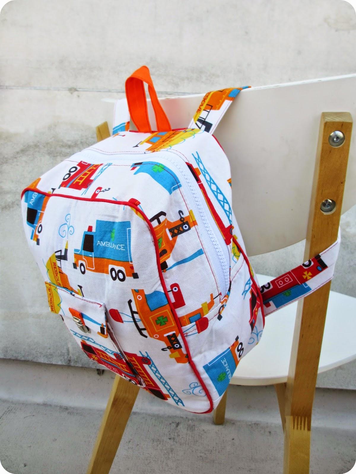 cute school bags tuto sac ecole maternelle. Black Bedroom Furniture Sets. Home Design Ideas