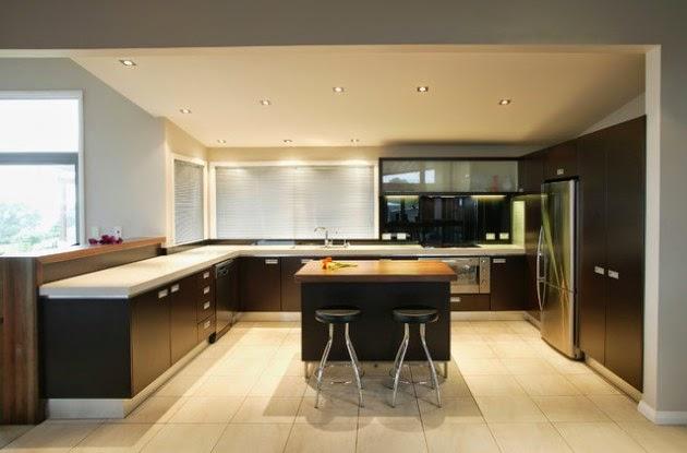 Beautiful Cocinas Grandes Diseño Gallery - Casas: Ideas & diseños ...
