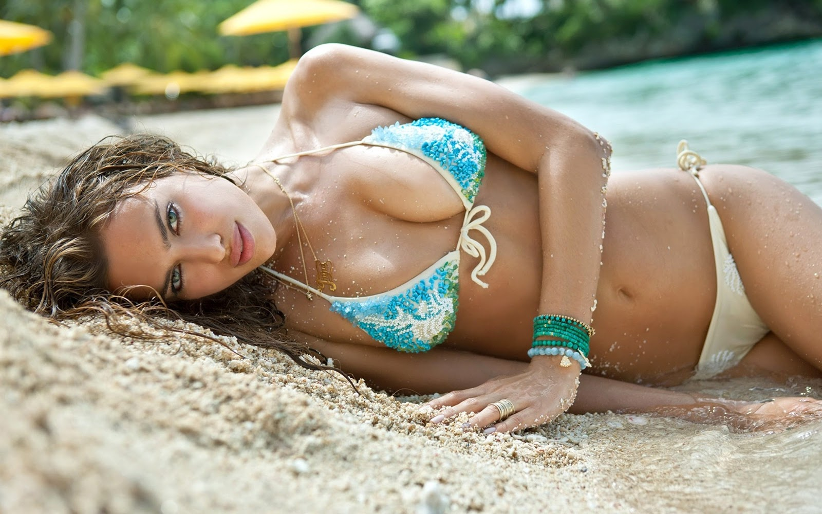 ONE PIECE POSTER ADRIANA LIMA VICTORIA/'S SECRET MODEL WALL ART A1 - A5 SIZES