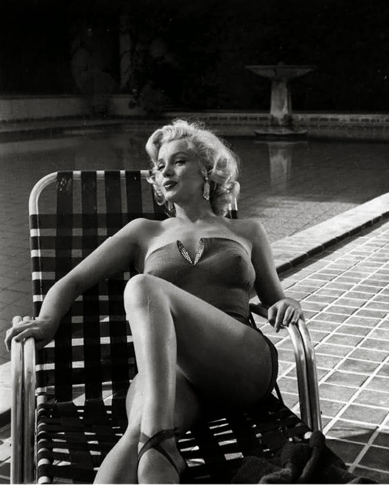 Marilyn Monroes Photoshoots By Harold Lloyd In 1953 -6413